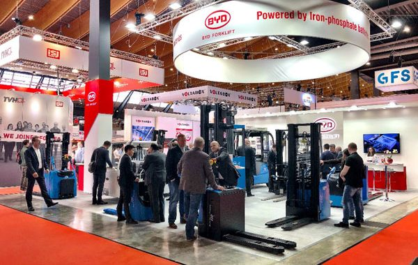 Technology leader BYD focuses on proven Iron-Phosphate battery at LogiMAT 2019