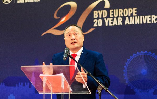 BYD celebrates 20 years in Europe