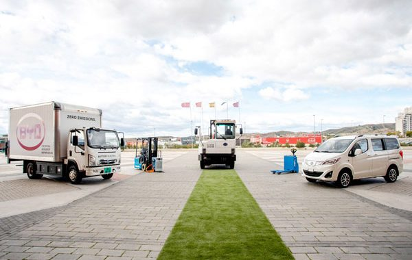 BYD pure electric trucks come to Europe! Premiere event held in Spain