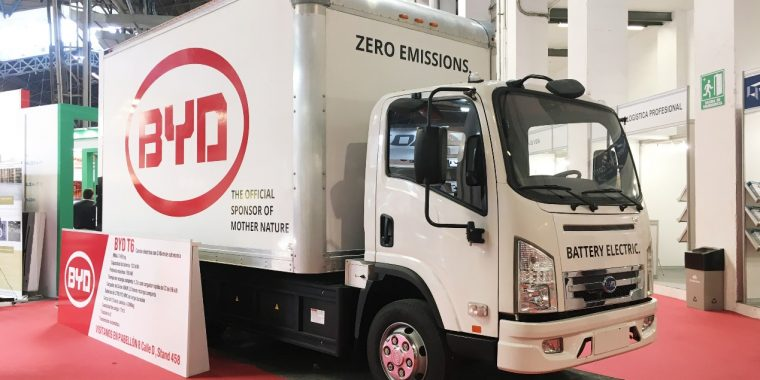 Technology leader BYD provides single source for workplace transport – from the warehouse to the last mile