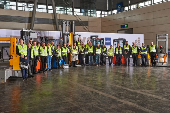IFOY Test Days 2016: Jury tests nominated forklift & warehouse trucks