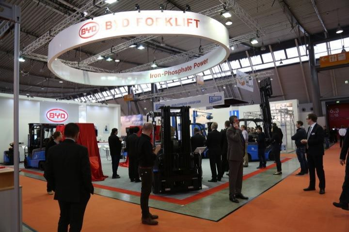 BYD Europe set to revolutionise forklift market