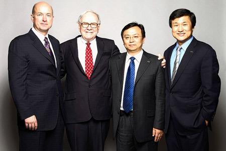 Warren Buffett có thể mua lại BYD